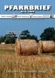 Download Pfarrbrief-2009-06.pdf - St. Joseph, Siemensstadt