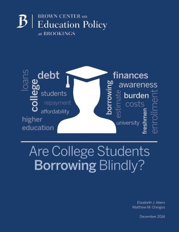 are college students borrowing blindly_2014