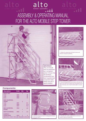 Alto Mobile Step a-w - ALTO Towers