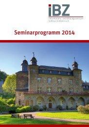Seminarprogramm 2014 - International Police Association