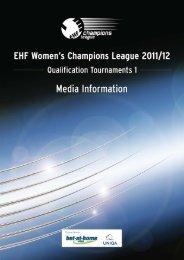 Friday 2 September 2011 - European Handball Federation