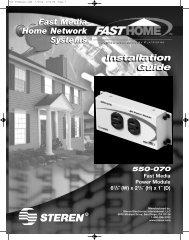 550-070 Manual - Steren Electronics