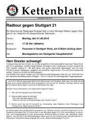 2010-06-14 Extrablatt - Naturfreunde Radgruppe Stuttgart