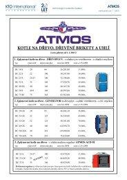 Atmos ceník 1-2013