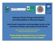 Reducing Climate Change-Induced Risks and Vulnerabilities in ...