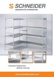 Modulares Regalsystem.02.2010_Layout 1 - Schneider GmbH