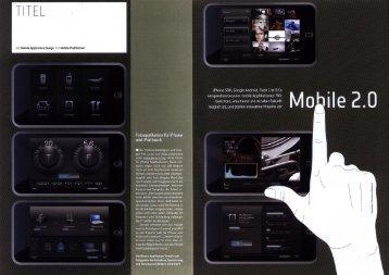 Mobile 2.0 - Neue Digitale
