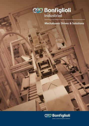 Mechatronic Drives & Solutions Download pdf - Bonfiglioli