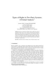 Types of Rights in Two-Party Systems: A Formal Analysis