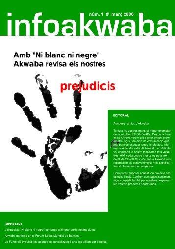 Ni blanc ni negre - Fundació Akwaba