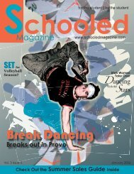 JAN. ISSUE - Schooled Magazine