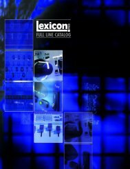 LEXICON-Full line
