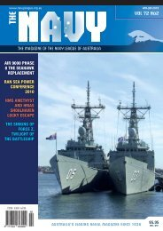 VOL 72 No2 - Navy League of Australia