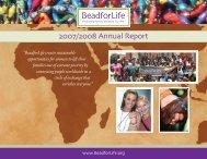 2007/2008 Annual Report - BeadforLife