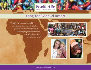 2007/2008 Annual Report - BeadforLife