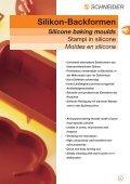 Silikon-Backformen Silicone baking moulds - Schneider GmbH - Seite 2