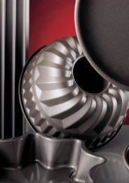 Metall-Backformen Metal baking moulds - Schneider GmbH