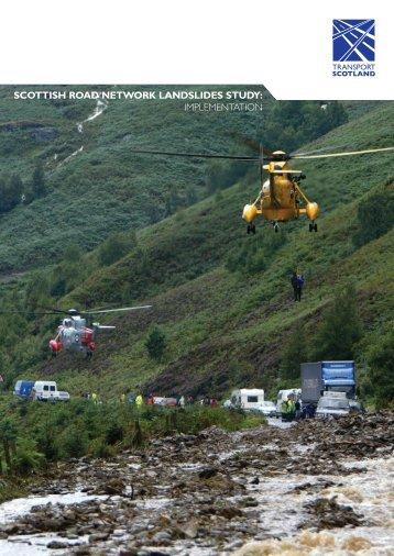 Scottish Road Network Landslides Study: Implementation