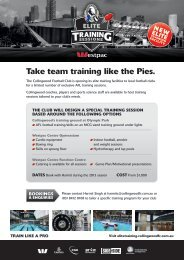 Download the Elite Training Sessions booking form here.