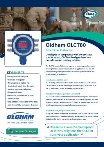 Oldham OLCT80 Datasheet - A1 Cbiss