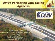 Jennifer Cohan - American Association of Motor Vehicle ...