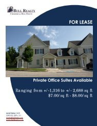 FOR LEASE - Bull Realty