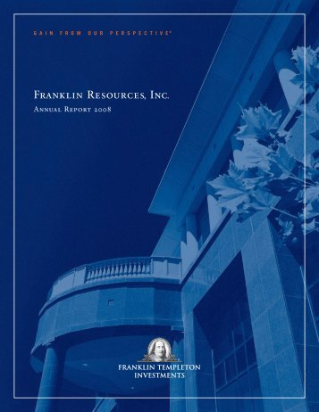 PDF Version - Franklin Resources