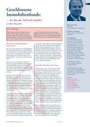 Geschlossene Immobilienfonds: - Asuco Fonds GmbH