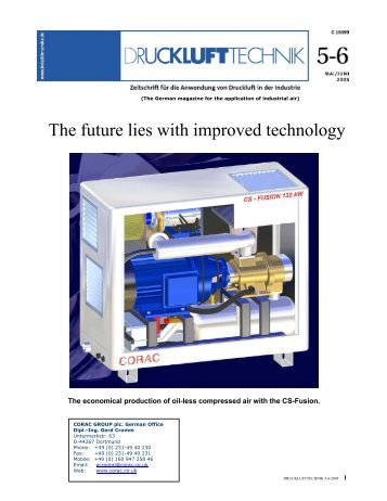 The future lies with improved technology - GCI-Consulting