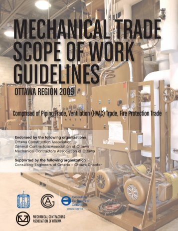 Trade Scopes of Work_Mechanical - General Contractors ...