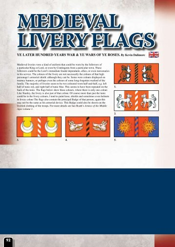 Download a PDF version of the Medieval Livery ... - Flames of War