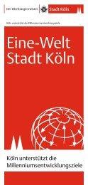 Eine-Welt Stadt Köln - Join Universe
