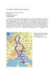 35. EUROCC – ROM 08. bis 21. Juni 2011 - Stalgies