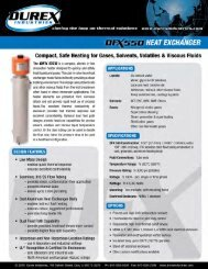 DFX550-0213 Cast Circulation Heaters - Durex Industries