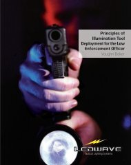 Principles of Illumination Tool Deployment for the Law Enforcement ...