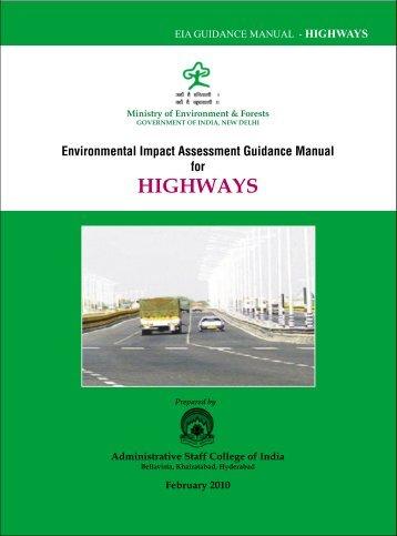 (7) Highways - Environmental Clearance