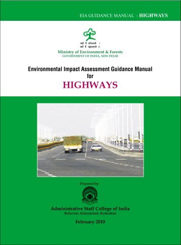 (7) Highways - Environmental Clearance