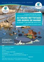 Télécharger le bulletin d'inscription - Le Perreux-sur-Marne