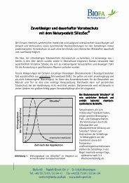 SilicoSec Beschreibung - BIOFA