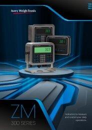 ZM300 Series Indicator Literature (DE-En) - Avery Weigh-Tronix