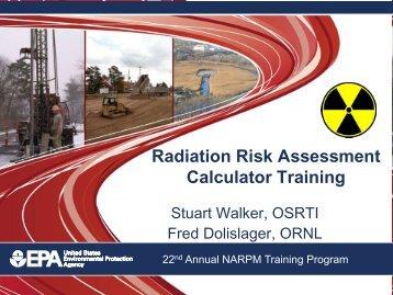 Radiation Risk Assessment.pdf - (NARPM) Training Program
