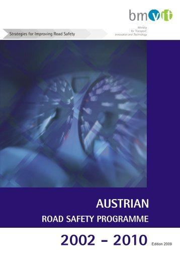 Verkehrssicherheitsprogramm 2009 - 3. Auflage English