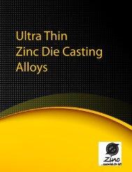 Ultra Thin Zinc Die Casting Alloys - International Zinc Association