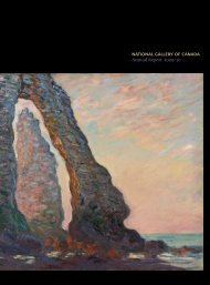 Annual Report 2009-2010 - National Gallery of Canada