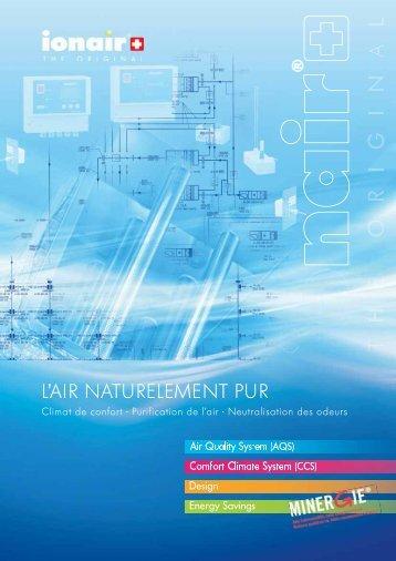 A - Brochure système ionair - Crystal NTE SA