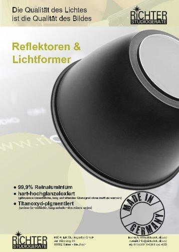 Lichtformer Metall