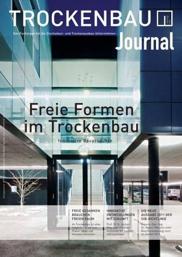 Freie Formen im Trockenbau - Sprit.org