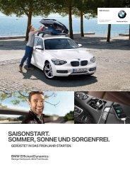 SaiSonStart. Sommer, Sonne und Sorgenfrei. - BMW Niederlassung ...