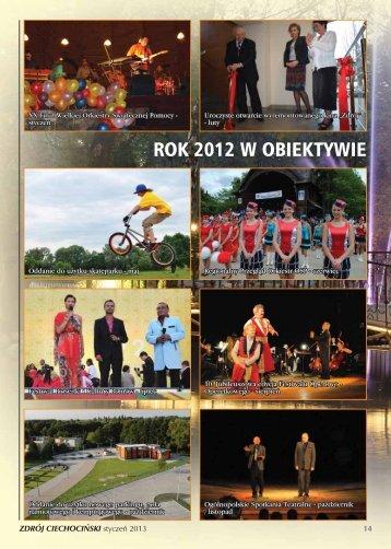 ROK 2012 W OBIEKTYWIE - Ciechocinek.pl