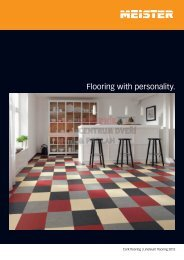 Flooring with personality.
